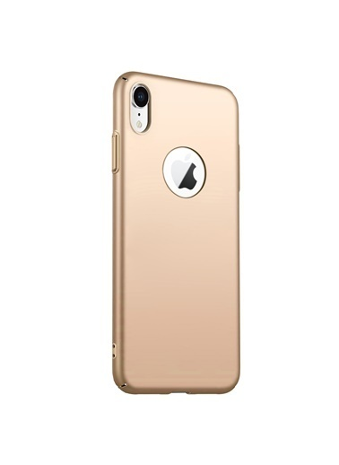Microsonic Apple iPhone XR Kılıf Premium Slim Gold Altın